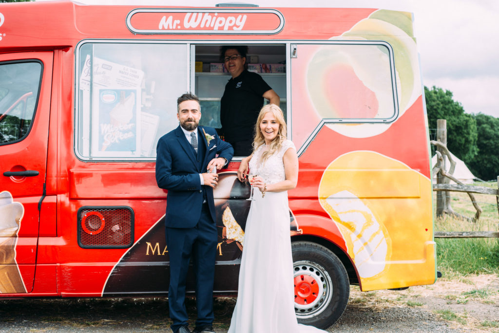 Yoghurt Rooms Wedding-Liverpool Wedding Photographer- Ice Cream Van Wedding