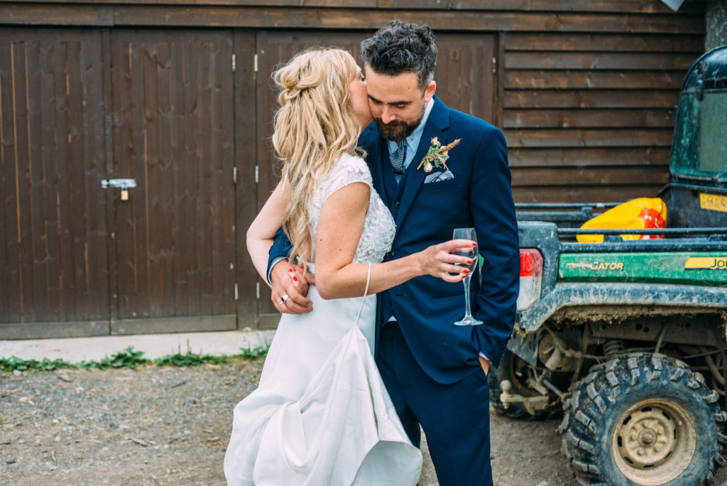 Yoghurt Rooms Wedding-Liverpool Wedding Photographer- Rustic Wedding- Ivy & Aster Wedding Dress