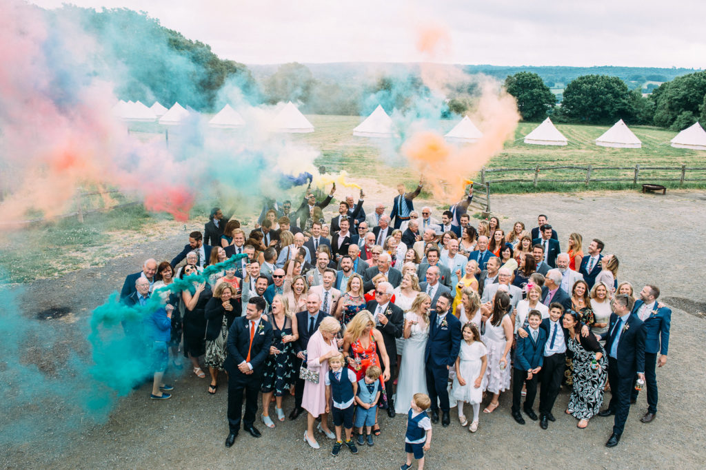 Yoghurt Rooms Wedding-Liverpool Wedding Photographer- Smoke Bomb Wedding