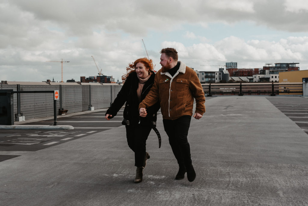 Fun Liverpool Engagement Shoot