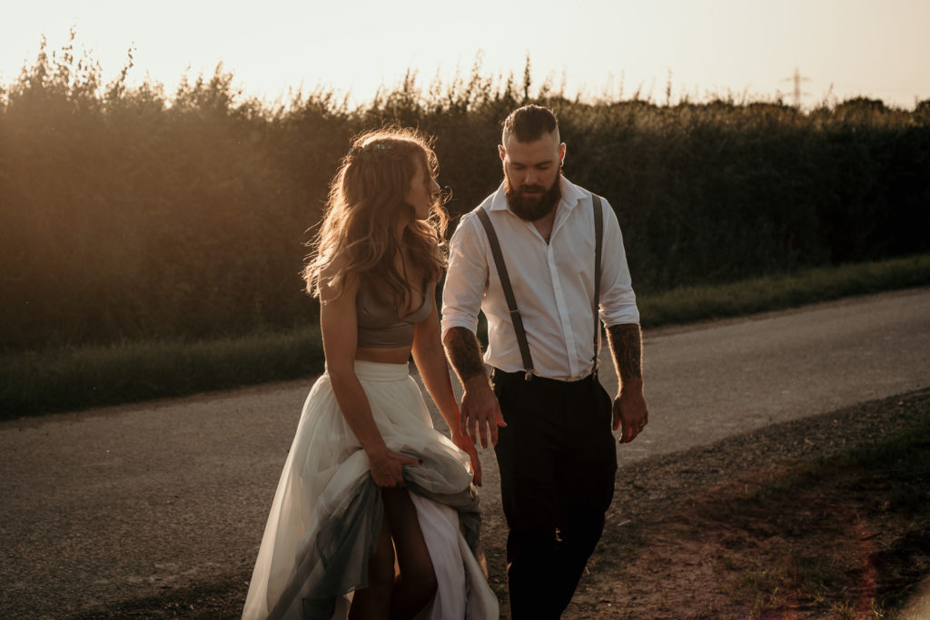 Alternative Boho Wedding