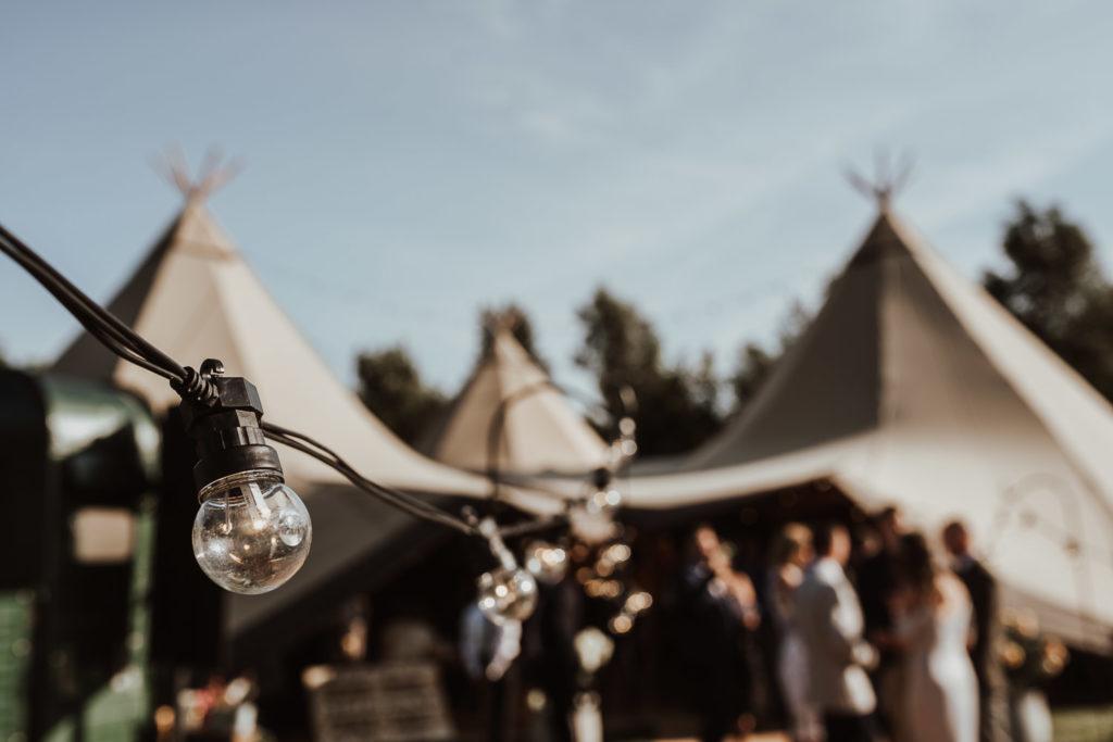 Boho Chic Wedding - Tipi Wedding